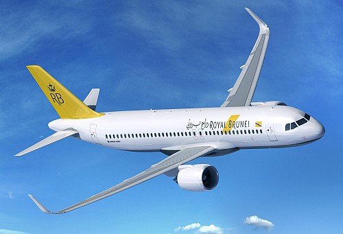 Airbus A320 Royal Brunei Airlines