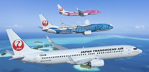 Boeing 737-800 Japan Transocean Air