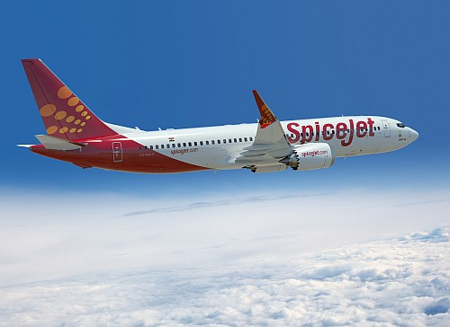 Boeing 737 MAX 8 SpiceJet