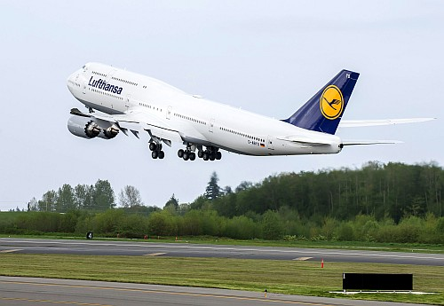 Boeing 747-8 Intercontinental Lufthansa