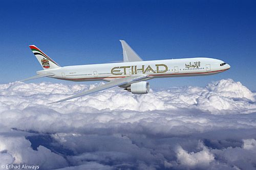 Boeing 777 Etihad Airways