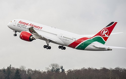 Boeing 787-8 Dreamliner Kenya Airways