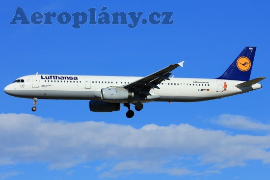Airbus A321-131 - D-AIRY
