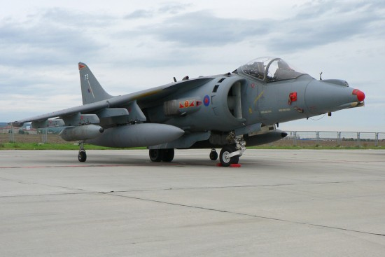 British Aerospace Harrier GR7 - ZG502-73