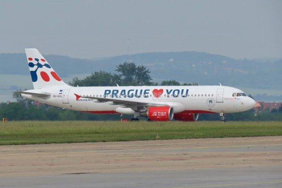 Airbus A320 Holidays Czech Airlines