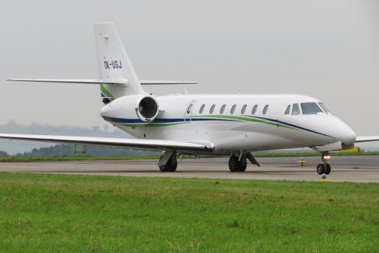 Cessna 680 Citation Sovereign - OK-UGJ