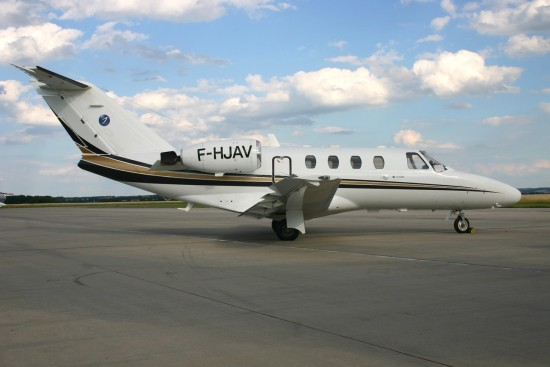 Cessna 525 CitationJet - F-HJAV