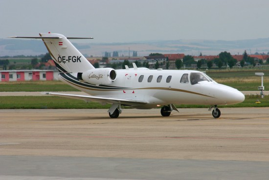 Cessna 525 CitationJet - OE-FGK