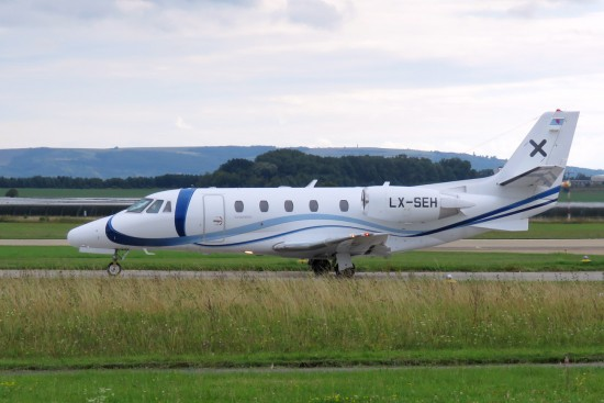 Cessna 560XL Citation XLS - LX-SEH