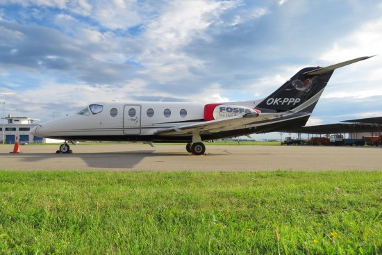 Raytheon Hawker 400XP - OK-PPP