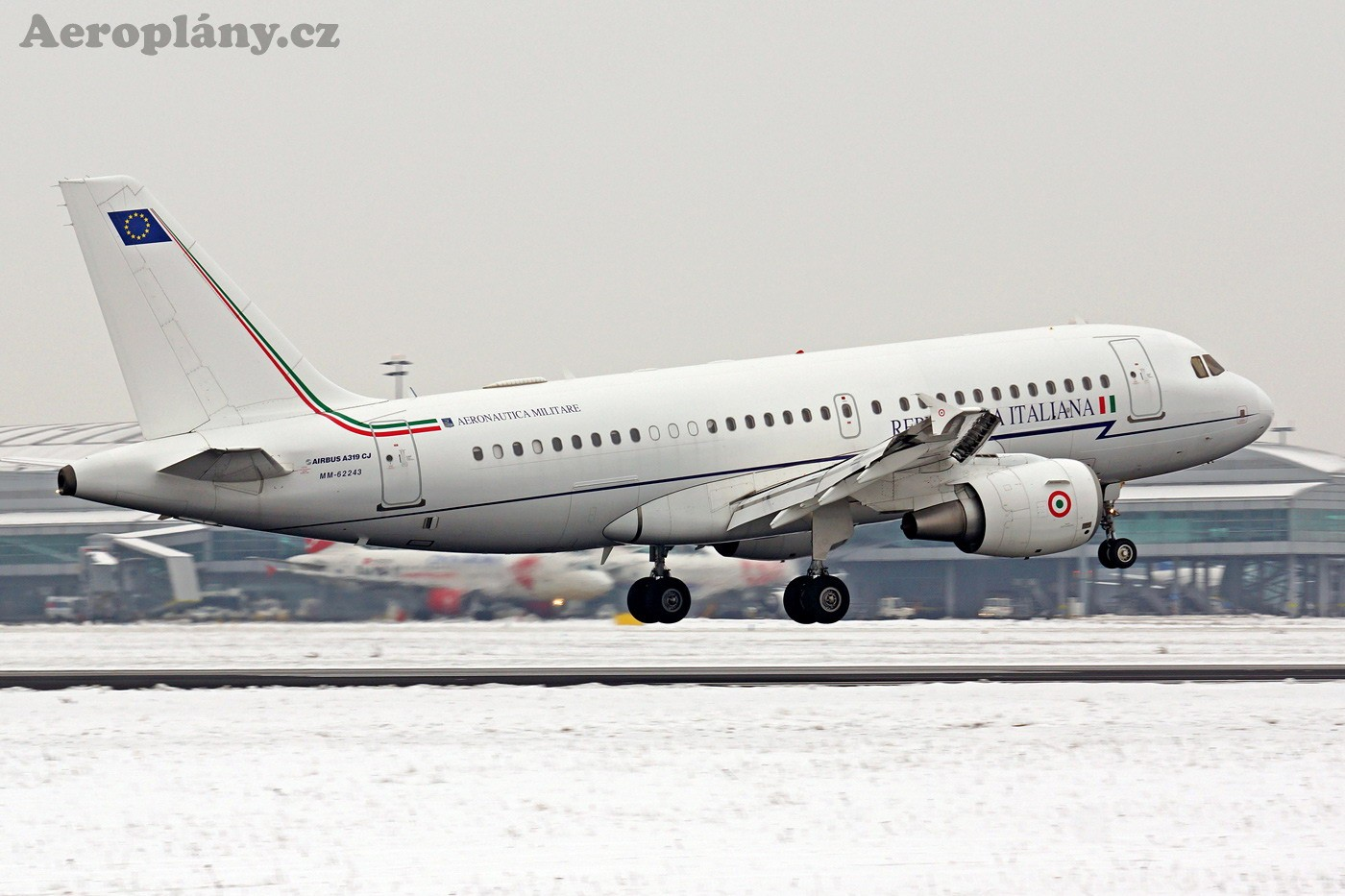Airbus A319-115CJ - MM62243