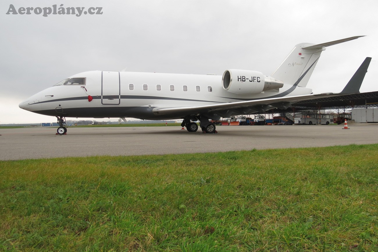 Bombardier Challenger 604 (CL-600-2B16) - HB-JFC