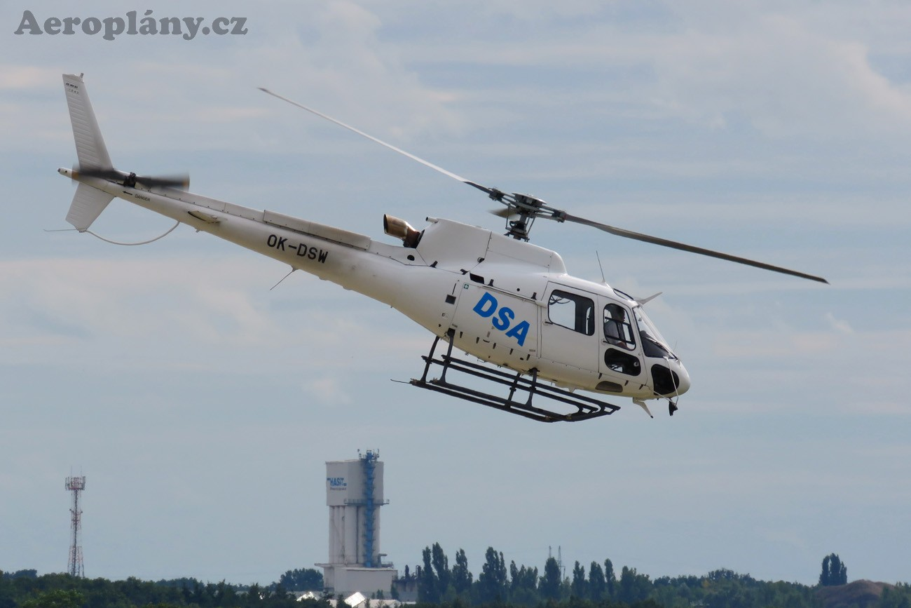 Eurocopter AS-350B-3 Ecureuil - OK-DSW