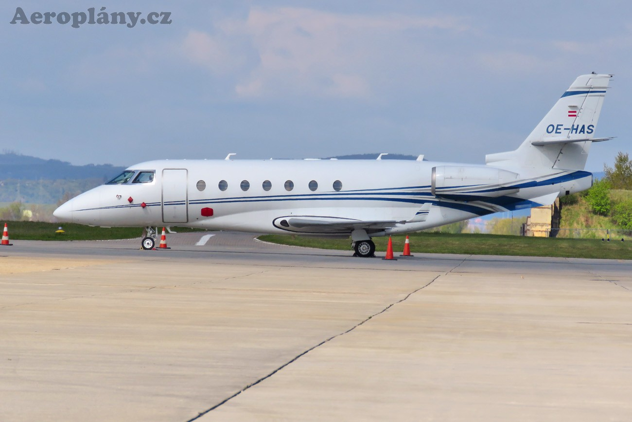 Gulfstream Aerospace G200 - OE-HAS